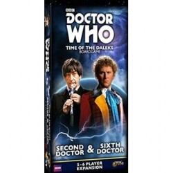 Doctor Who Time of the Daleks 2nd & 6th Doctors Expansion