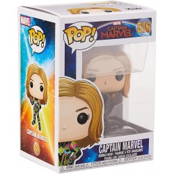 Funko POP! Bobble Vinyl Captain Marvel Neon Suit