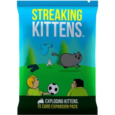 Exploding Kittens Streaking Kittens Games Toys More E U
