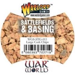 Battelfields & Basing Large Cork Chips 500ml