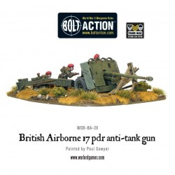 Bolt Action British Airborne 17 pdr anti tank gun