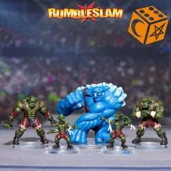 Rumbleslam TEAM Green Bruisers
