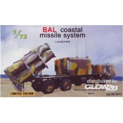 BAL coastal missile system, launcher