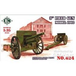 3inch field gun, model 1902