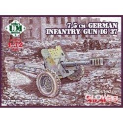 75mm German infantry gun IG 37