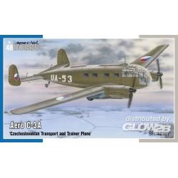 Aero C-3A Czechoslovakian Transport and Trainer Plane