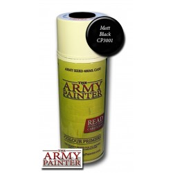 Army Painter Base Primer Matt Black Spray