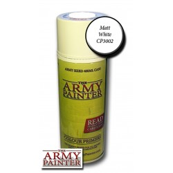 Army Painter Base Primer Matt White Spray