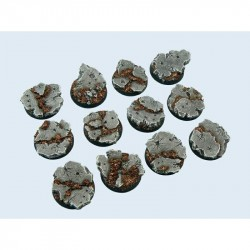 Ruins Bases Round 25 mm