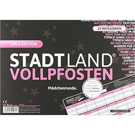 STADT LAND VOLLPFOSTEN - Girls EDITION
