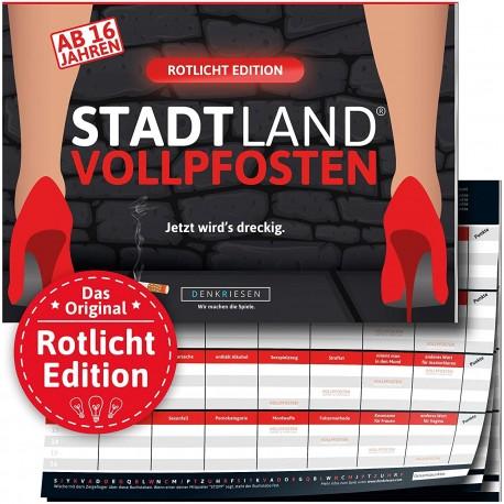 STADT LAND VOLLPFOSTEN - Rotlicht EDITION