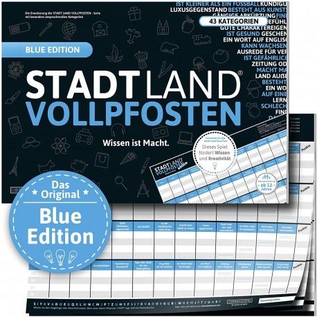 STADT LAND VOLLPFOSTEN - Blue EDITON Intelligenz ist relativ XXL