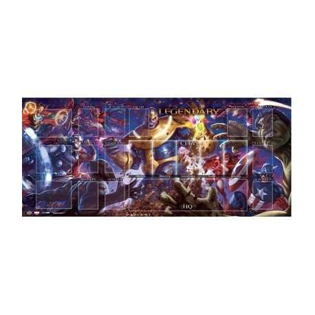 Legendary Avengers Playmat Vs. Thanos