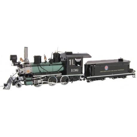 Metal Earth Wild West 2-6-0 Locomotive