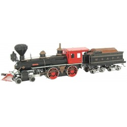 Metal Earth Wild West 4-4-0 Lokomotive
