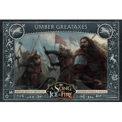 Game of Thrones Song of Ica and Fire Umber Great Axes