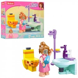 SLUB Girls Dream Badezimmer B0800A