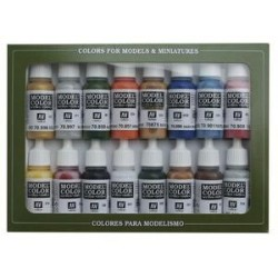 Folkstone Basic Paint Set (16 Farben) 70101