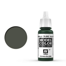 Vallejo Model Color Yellow Olive 17ml 70.892