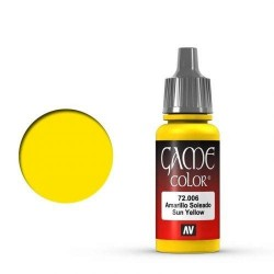 Vallejo Game Color Sun Yellow 72.006