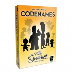 Codenames The Simpsons Family Edition