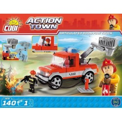 COBI ACTION TOWN 1479 ARTICULATED BOOM FIRE