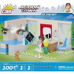 COBI ACTION TOWN 1740 AT THE VET