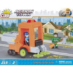 COBI ACTION TOWN 1784 STREET SWEEPER