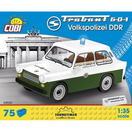 COBI CARS 24520 TRABANT 601 VOLKSPOLIZEI DDR