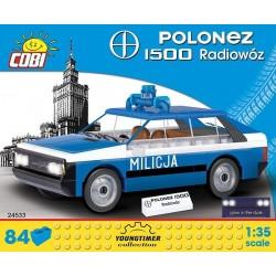 COBI CARS 24533 POLONEZ 1500 RADIOWOZ