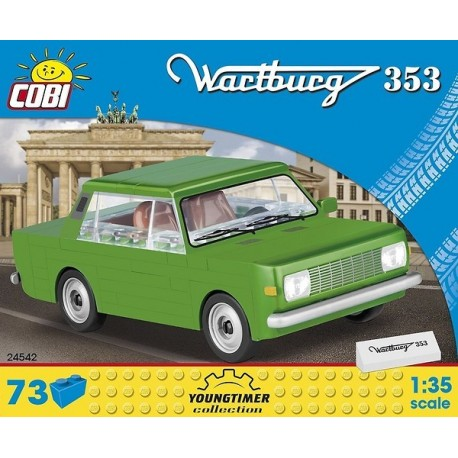 COBI CARS 24542 WARTBURG 353
