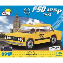 COBI CARS 24547 FSO 125P TAXI