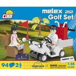 COBI CARS 24554 MELEX 212 GOLF SET