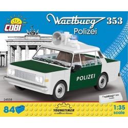 COBI CARS 24558 WARTBURG 353 POLIZEI