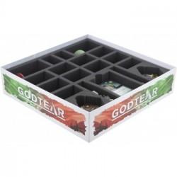 Feldherr foam set for Godtear: Eternal Glade Starter Set - board game box