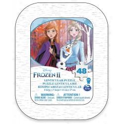 Puzzle Frozen II Metalldose 48T