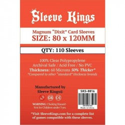 Sleeve Kings Magnum Dixit Card Sleeves (80x120mm) -110 Pack 8816