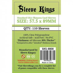 Sleeve Kings Standard USA Chimera Card Sleeves (57.5x89mm) 110 Pack