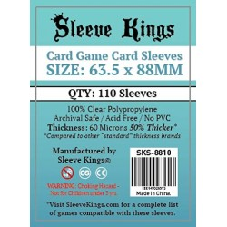 Sleeve Kings Card Game Card Sleeves (63.5x88mm) 110 Pack