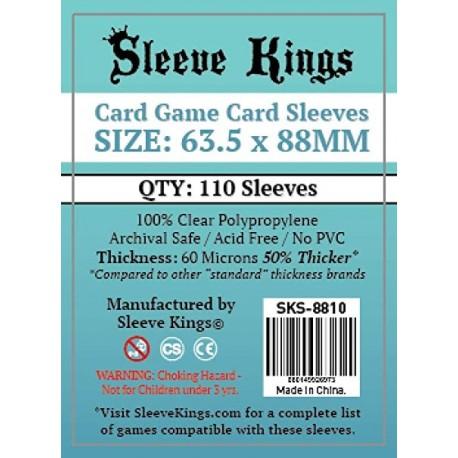 Sleeve Kings Card Game Card Sleeves (63.5x88mm) 110 Pack
