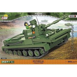 COBI 735 PCS VIETNAM WAR 2235 LIGHT AMHIBIOUS TANK PT 76