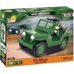 COBI 75 PCS VIETNAM WAR 2230 M151 A1 MUTT