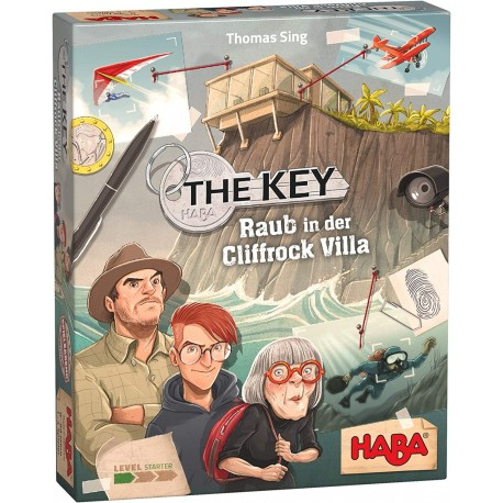 The Key Raub in der Cliffrock Villa