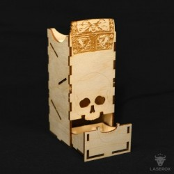 Dice Tower LaserOx Treasure Tower