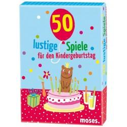 50 lustige Kindergeburtstagsspiele