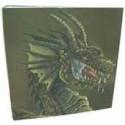 Dragon Sield: 9-Pocket Portfolio Drache, braun