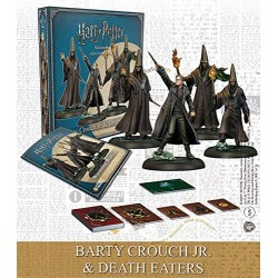 Harry Potter Miniature Adventure Game Barty CrouchJr. & Death Eaters