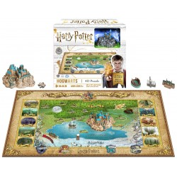 Puzzle Harry Potter Hogwarts 4D