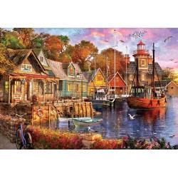 Puzzle Harbor Evening 5000T 18015