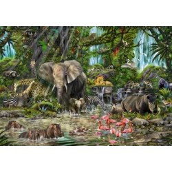 Puzzle African Jungle 2000T 16013